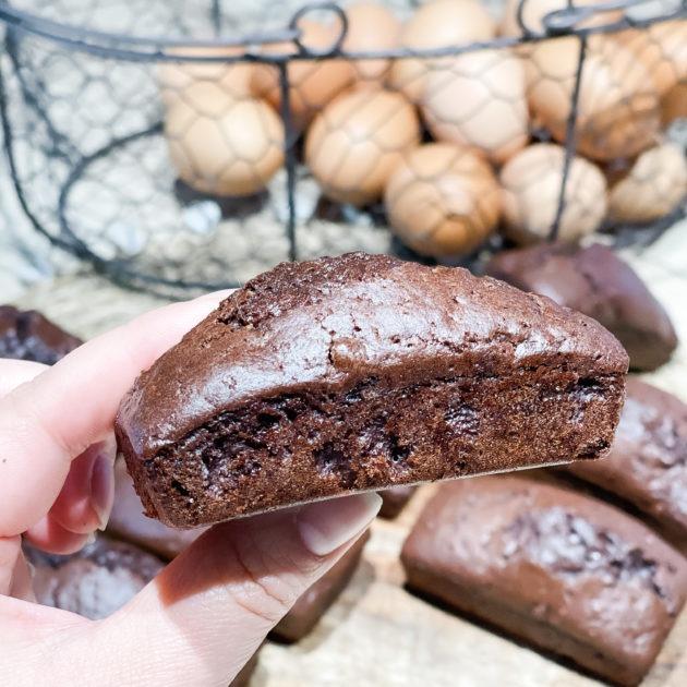 Mini cakes choco